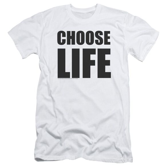 Wham Choose Life Short Sleeve Adult T-Shirt