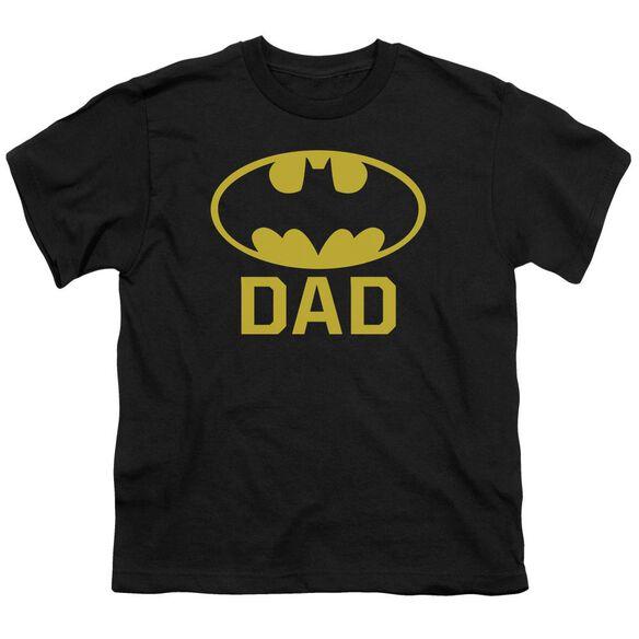 Batman Bat Dad Short Sleeve Youth T-Shirt