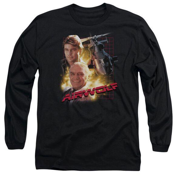 Airwolf Airwolf Long Sleeve Adult T-Shirt