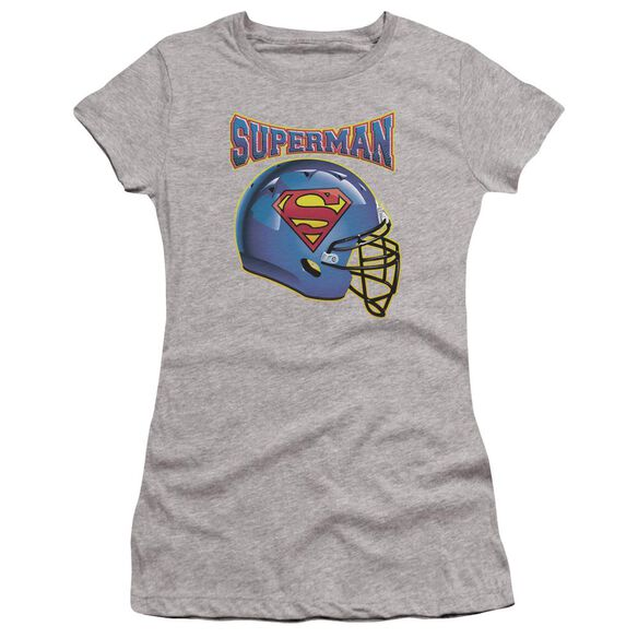 Superman Helmet Premium Bella Junior Sheer Jersey Athletic