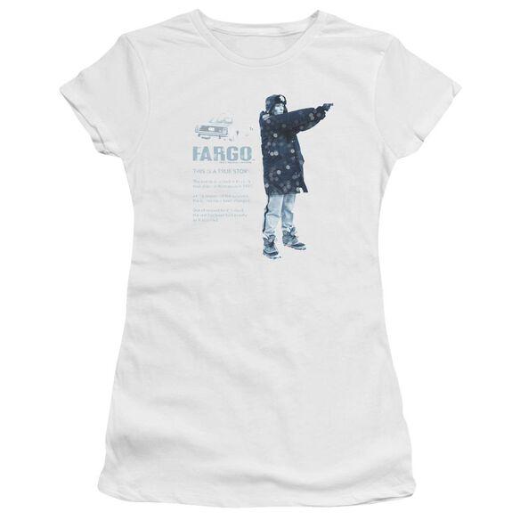 Fargo This Is A True Story Premium Bella Junior Sheer Jersey