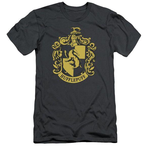 Harry Potter Hufflepuff Crest Short Sleeve Adult T-Shirt