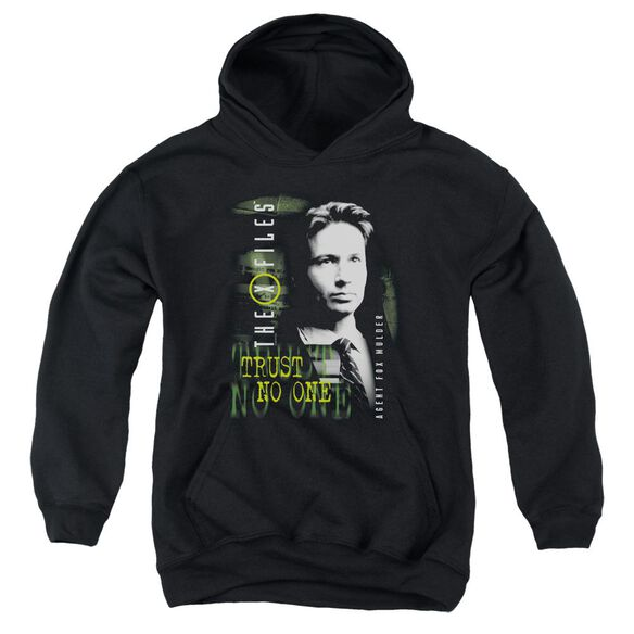 X Files Mulder Youth Pull Over Hoodie