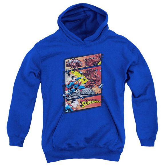 Superman Superman Vs Zod Youth Pull Over Hoodie