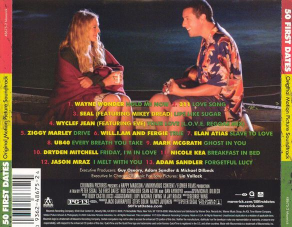 50 First Dates / O.S.T. (Enh)