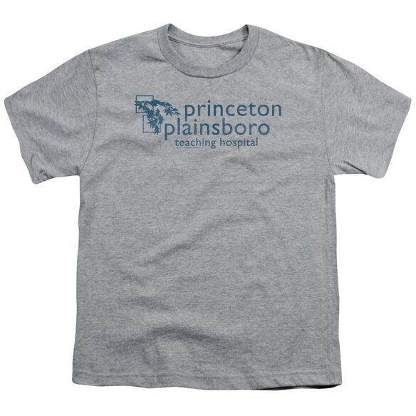 House Princeton Plainsboro Short Sleeve Youth Athletic T-Shirt