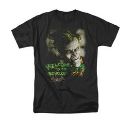 Joker Arkham Asylum Welcome To The Madhouse T-Shirt