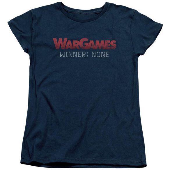Wargames No Winners Short Sleeve Womens Tee T-Shirt