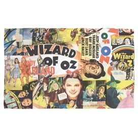 Wizard Of Oz Collage Beach Towel