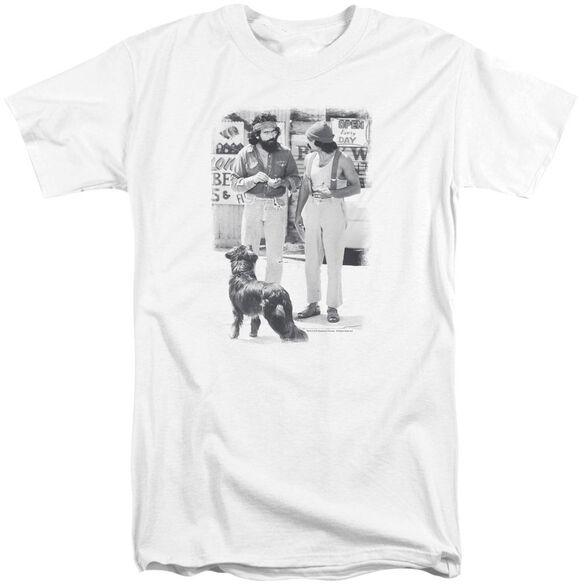 Up In Smoke Cheech Chong Dog Short Sleeve Adult Tall T-Shirt