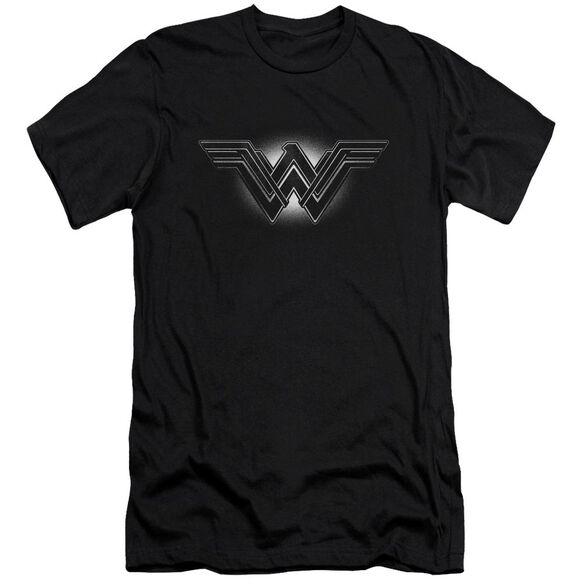Batman V Superman Glow Emblem Short Sleeve Adult T-Shirt