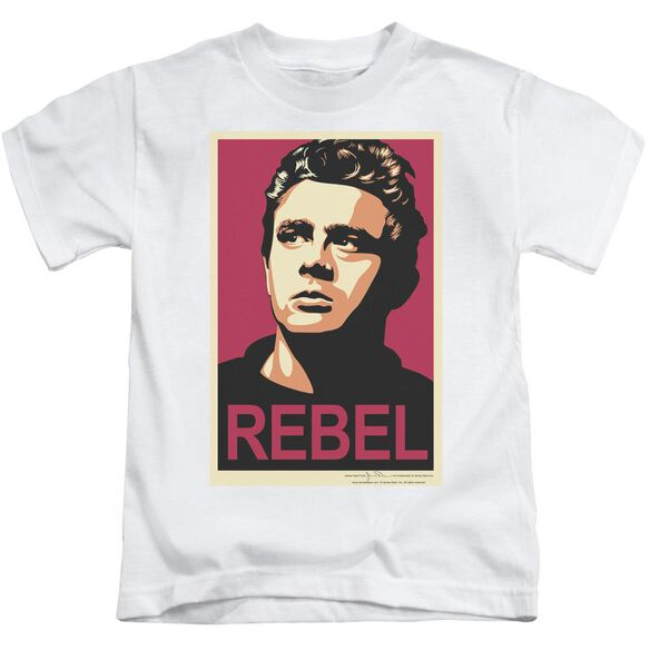 Dean Rebel Campaign Short Sleeve Juvenile White T-Shirt