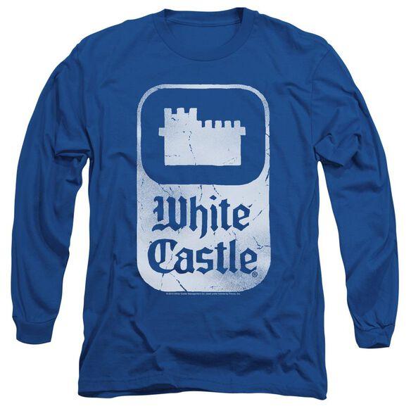 WHITE CASTLE CLASSIC LOGO-L/S ADULT T-Shirt