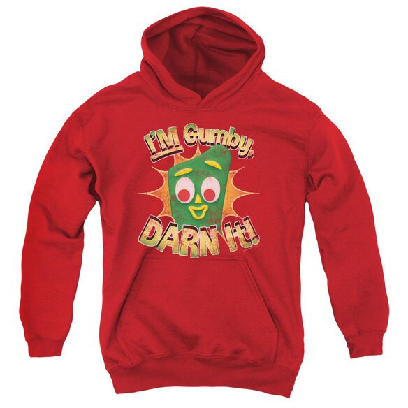 Gumby Darn It Youth Pull Over Hoodie