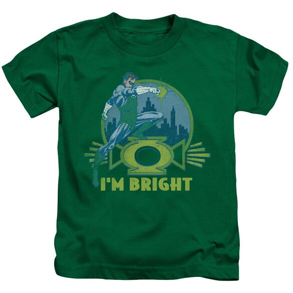 Lantern I'm Bright Short Sleeve Juvenile Kelly T-Shirt