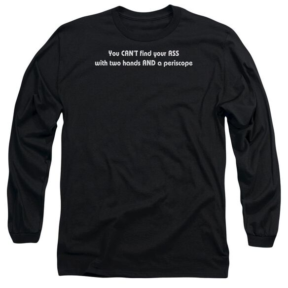Two Hands And Periscope Long Sleeve Adult T-Shirt
