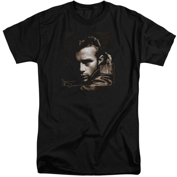 Dean Brown Leather Short Sleeve Adult Tall T-Shirt