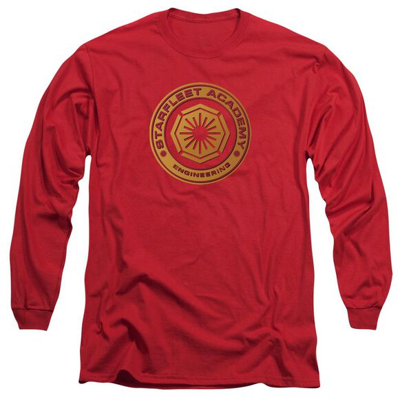 Star Trek Engineering Long Sleeve Adult T-Shirt