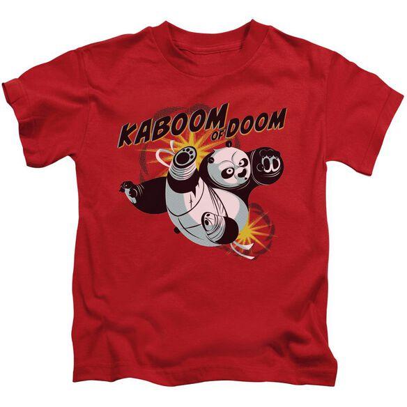 Kung Fu Panda Kaboom Of Doom Short Sleeve Juvenile T-Shirt