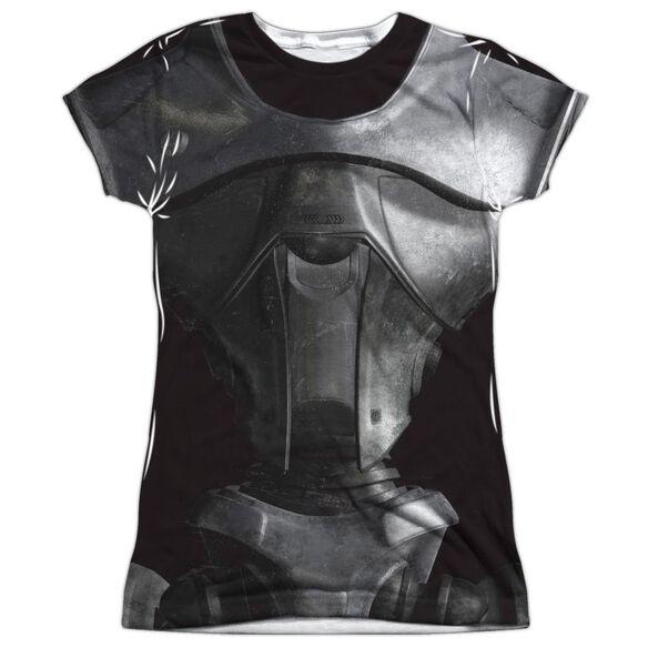 Bsg (New) New Cylon Short Sleeve Junior Poly Crew T-Shirt