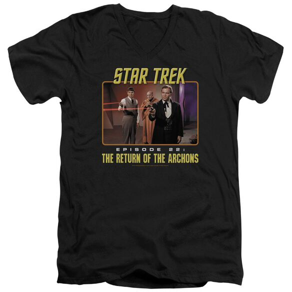 Star Trek Episode 22 Short Sleeve Adult V Neck T-Shirt