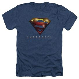 Supergirl Logo Glare Adult Heather