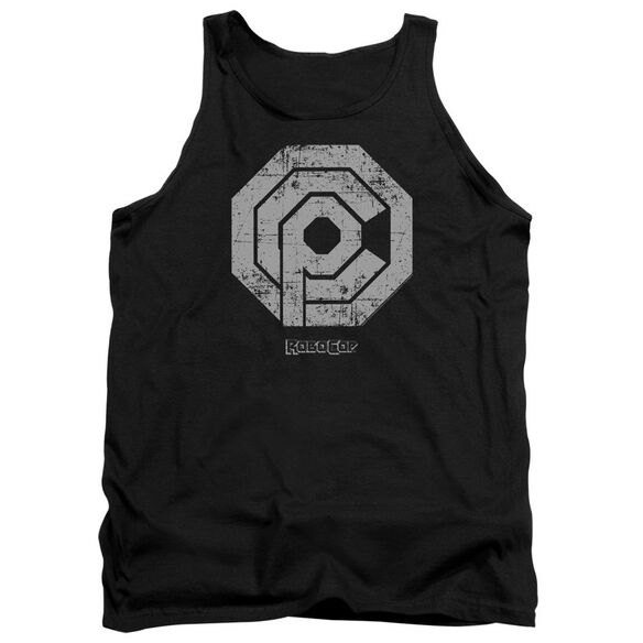 Robocop Distressed Ocp Logo Adult Tank