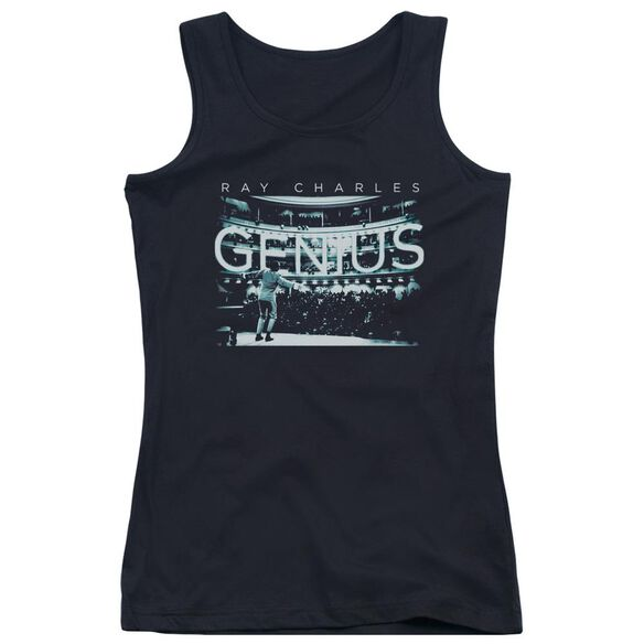 Ray Charles Packed House Juniors Tank Top