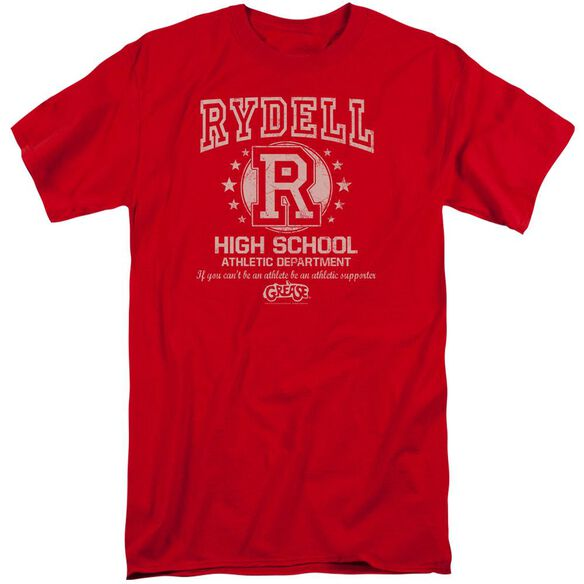 Grease Rydell High Short Sleeve Adult Tall T-Shirt