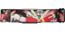 Voltron Action Poses Seatbelt Belt