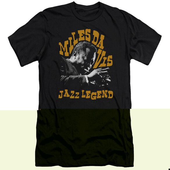 Miles Davis Jazz Legend Short Sleeve Adult T-Shirt