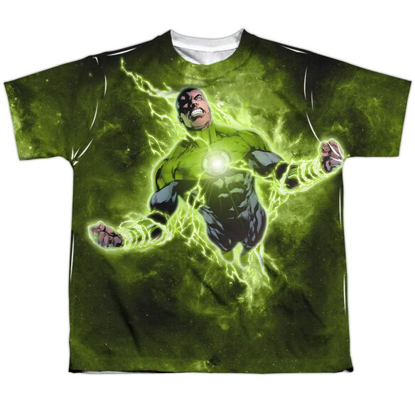 Green Lantern Inner Strength Short Sleeve Youth Poly Crew T-Shirt