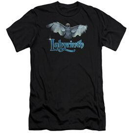 Labyrinth Title Sequence Premuim Canvas Adult Slim Fit