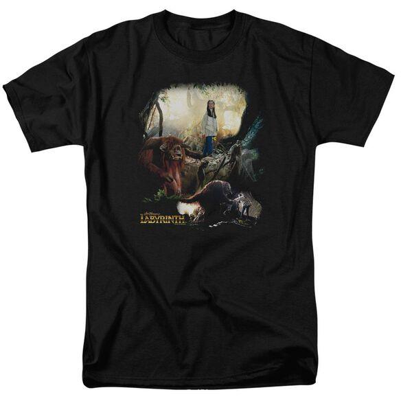 Labyrinth Sarah & Ludo Short Sleeve Adult T-Shirt