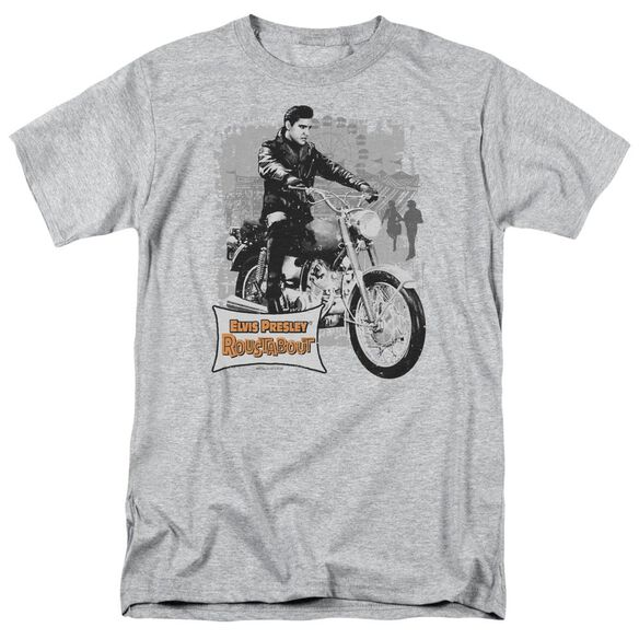 Elvis Roustabout Poster Short Sleeve Adult Athletic T-Shirt