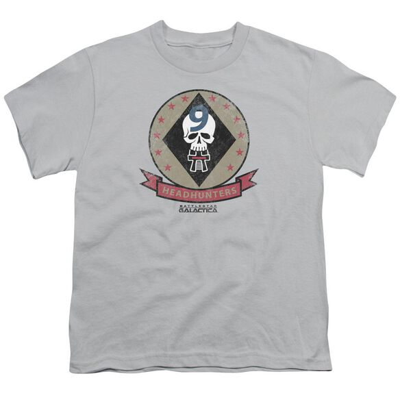 Bsg Headhunters Badge Short Sleeve Youth T-Shirt