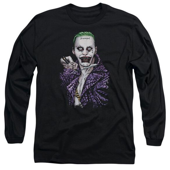 Suicide Squad Blade Long Sleeve Adult T-Shirt