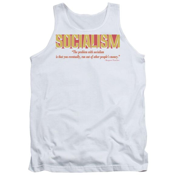 Problem With Socialism Adult Tank