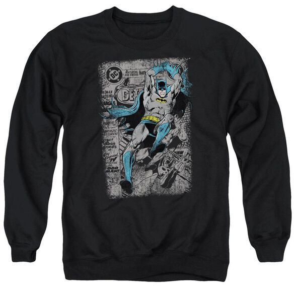 Batman Detective #487 Distress Adult Crewneck Sweatshirt
