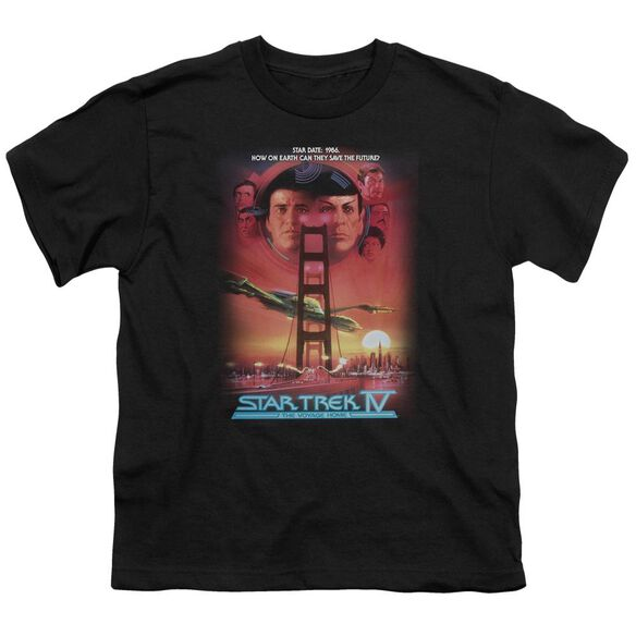 Star Trek The Voyage Home(Movie) Short Sleeve Youth T-Shirt