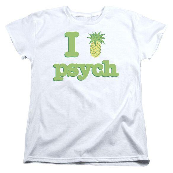 Psych I Like Psych Short Sleeve Womens Tee T-Shirt