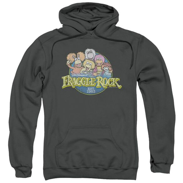 Fraggle Rock Circle Logo Adult Pull Over Hoodie