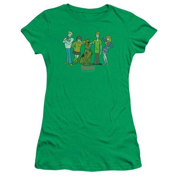 Scooby Doo Scooby Gang Short Sleeve Junior Sheer Kelly T-Shirt