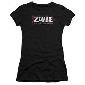 Izombie Logo Short Sleeve Junior Sheer T-Shirt