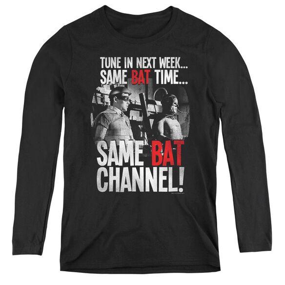 Batman Classic TV Bat Channel-womens Long