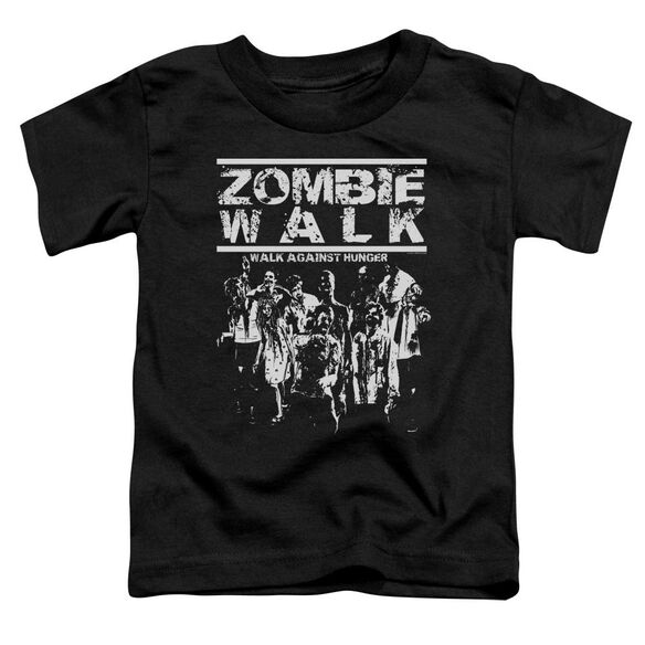 Zombie Walk Short Sleeve Toddler Tee Black Sm T-Shirt