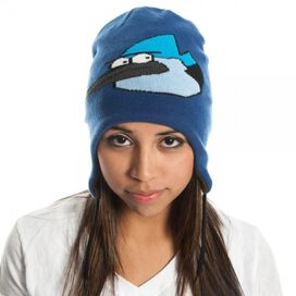 Regular Show Mordecai Rigby Reversible Beanie