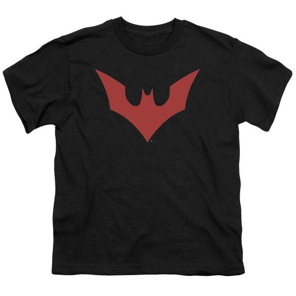 Batman Beyond Beyond Bat Logo Short Sleeve Youth T-Shirt