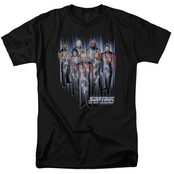 STAR TREK BEAM US UP - S/S ADULT 18/1 - BLACK T-Shirt