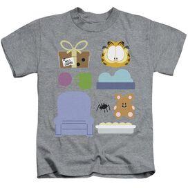 Garfield Gift Set Short Sleeve Juvenile Athletic T-Shirt